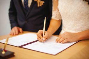 Matrimonio falso en Estados Unidos